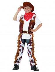 Maskeraddräkt cowboy barn