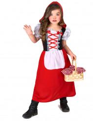 Röd skogsprinsessa - utklädnad barn