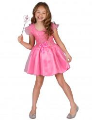 Rosa prinsessdräkt