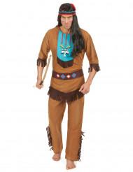 Maskeraddräkt Indian vuxen