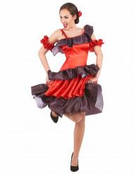 Tjusig flamenco-dansare - Maskeraddräkt för vuxna