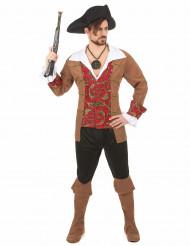 Luriga Lasse - Piratdräkt för vuxna