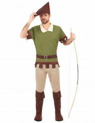 Stråtrövar-kostym man