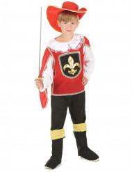 Röda musketören - Maskeraddräkt för barn