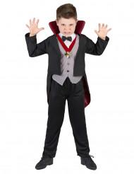 Vampyrdräkt md räck krage - Halloweenkostymer för barn