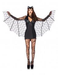 Sexig fladdermusdräkt till Halloween för vuxna