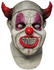Heltäckande mask animerad clown vuxen