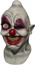 Heltäckande mask animerad clown galen vuxen
