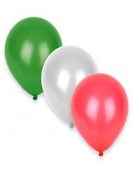 12 Supporterballonger Italien 27 cm