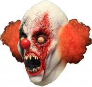 Heltäckande mask blodtörstande clown