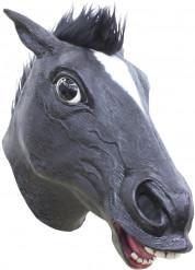 Mask svart häst