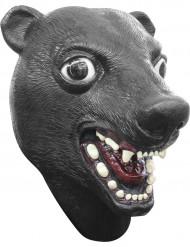Mask björn svart