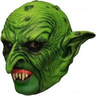 Mask 3/4 grön dvärg med löständer