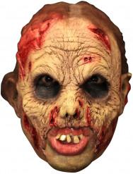 Mask 3/4 levande död deluxe med löständer