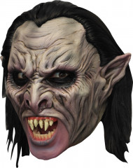 Mask 3/4  Vampyr  deluxe med löständer