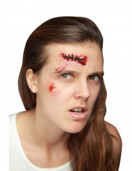 Falskt sår med stygn
