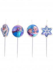 4 Födelsedagsljus Frost™ 9 cm