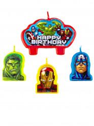 4 Födelsedagsljus Avengers ™
