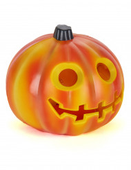 Liten lysande pumpa - Halloweendekoration