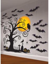 Kit med väggdekorationer till Halloween