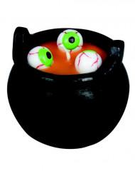 Kittel med ögonsoppa - Ljus till Halloween