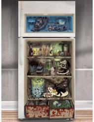 Halv åtta hos Zombien - Kylskåpsdekoration till Halloween