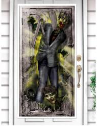 Zombieattack - Dörrdekoration till Halloween