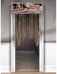 Zombiedörr - Halloweendekoration