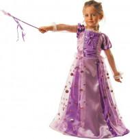 Rosa prinsessdräkt för barn till kalaset