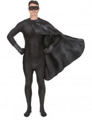 Kit superhjälte svart vuxen
