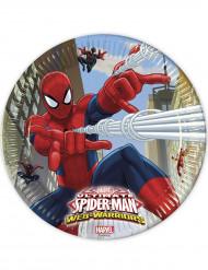 8 Tallrikar Spiderman™ 23 cm