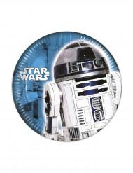 8 Små tallrikar Star Wars ™ 20 cm