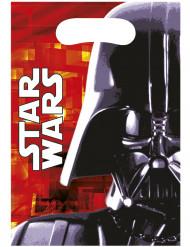 6 presentpåsar från Star Wars™ med tryck av Darth Vador™