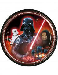 8 Tallrikar Darth Vader Star Wars™ 23 cm