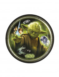 8 Tallrikar Star Wars™ 20 cm
