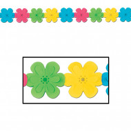 Festlig blomgirlang