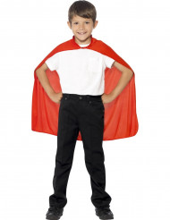 Röd mantel för barn