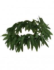 Krans med blad till tropisk maskerad