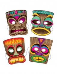 4 tiki-masker