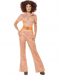 Orange 70-tals - utklädnad vuxen