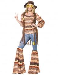 Harmoni - Hippiedräkt för vuxna till maskeraden
