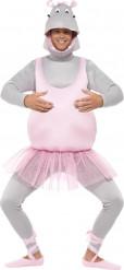 Flodhäst ballerina - utklädnad vuxen