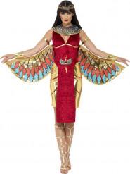 Egyptisk gudinna i rött - Maskeraddräkt för vuxna