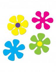 4 blomdekorationer till temafesten