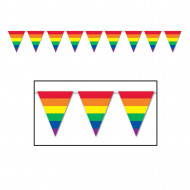 Regnbågsgirland till Pride