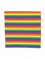 Regnbågsfärgad bandana - Maskeradtillbehör
