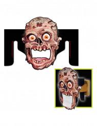 Zombiedekoration för wc-pappershållare Halloween