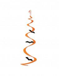 Fladdermus spiraldekoration Halloween