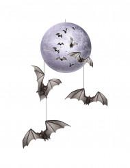 Fullmåne och fladdermöss - Hängande Halloweendekor