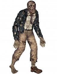 Kartongzombie i verkligstorlek - Halloweenpynt 180 cm